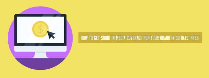 how to get media coverage