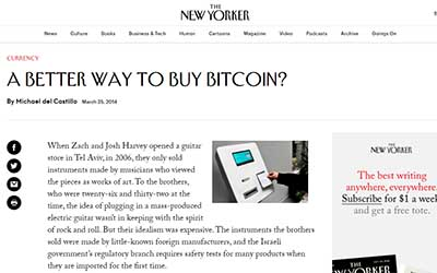 The New Yorker: A Better Way to Buy Bitcoin