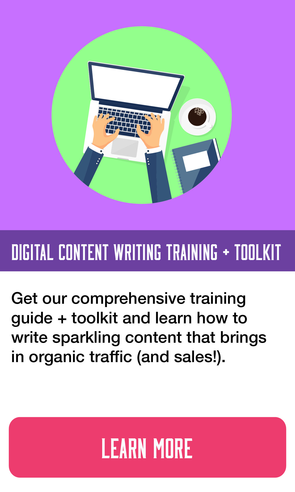 digital content writing training and Toolkit