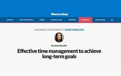 Newsday: Effective time management to achieve long-term goals