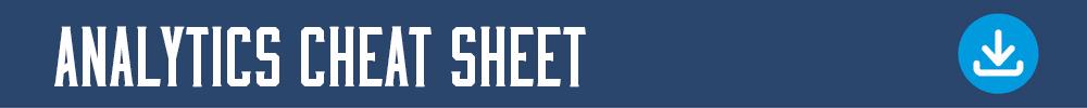 Content Writing Training: Analytics Cheat Sheet