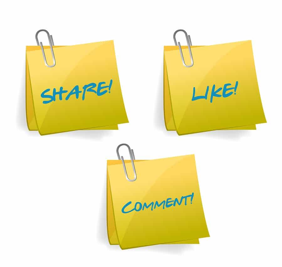 Social Media Signs Illustration Design