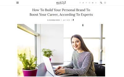 How To Build Your Personal Brand To Boost Your Career, According To Experts