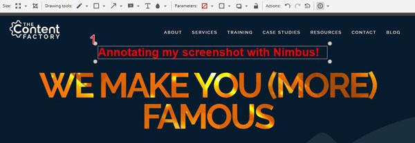 Nimbus Screenshot & Screen Video Recorder screenshot