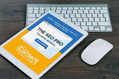 The SEO Pro Training Manual By The Content Factory